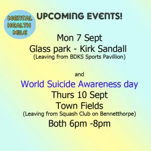 Mental Health Mile Key Dates